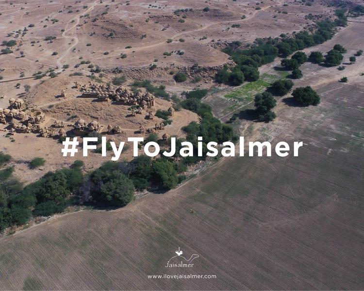 #FlyToJaisalmer
