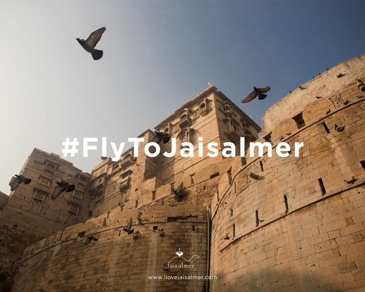 #FlyToJaisalmer2